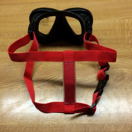 Secure Mask strap, make it difficult for those bad boys and girls to knock your mask off