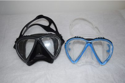 Lince Black and Blue Mask